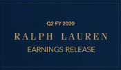 Ralph Lauren Reports Second Quarter Fiscal 2020 Results