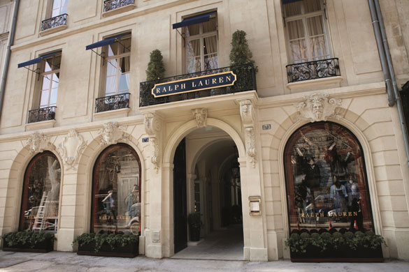 Ralph Lauren St. Germain Store, Paris