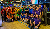 Ralph Lauren Corporation Rings the Closing Bell at NYSE, Celebrating Love and Equality
