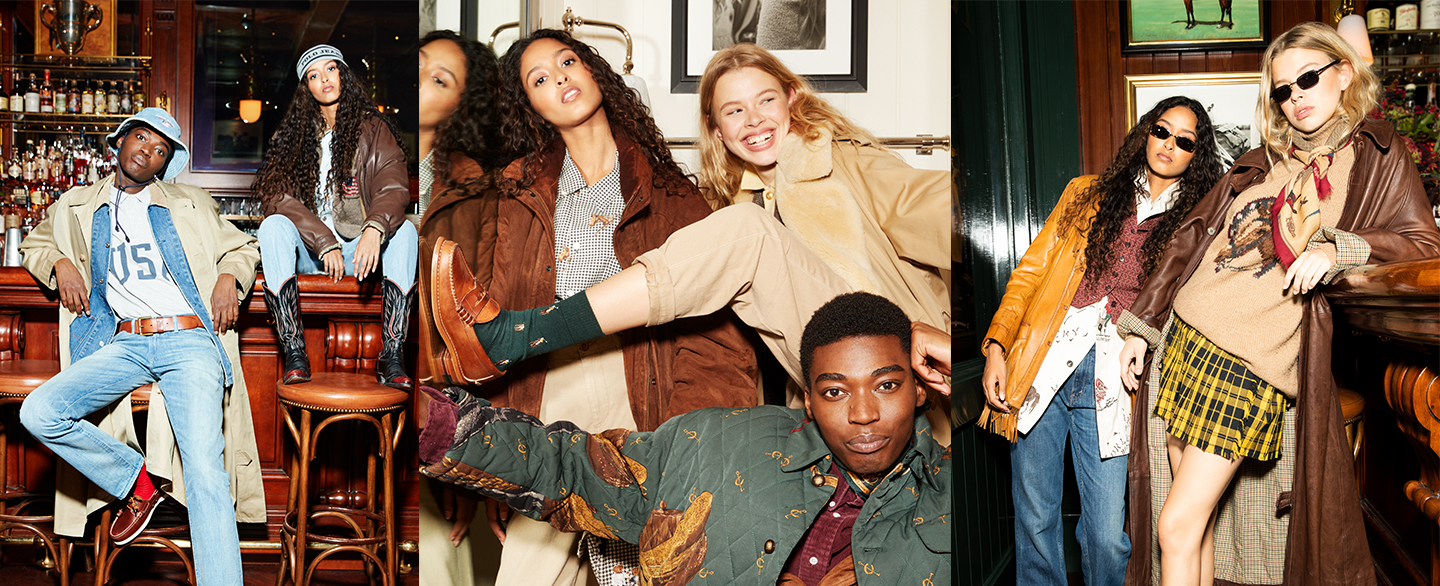 "Ralph Lauren and Depop Launch ""Re/Sourced"" a Uniquely Curated Collection Celebrating Vintage Polo"