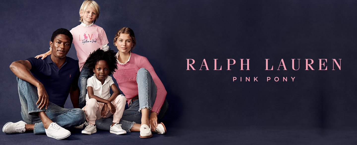 Ralph Lauren's Pink Pony Initiative Marks 20 Years in the Fight Against Cancer